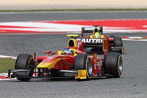 GP2 Race report First lap incidents ruin the day for Racing Engineering in today's Barcelona Feature Race