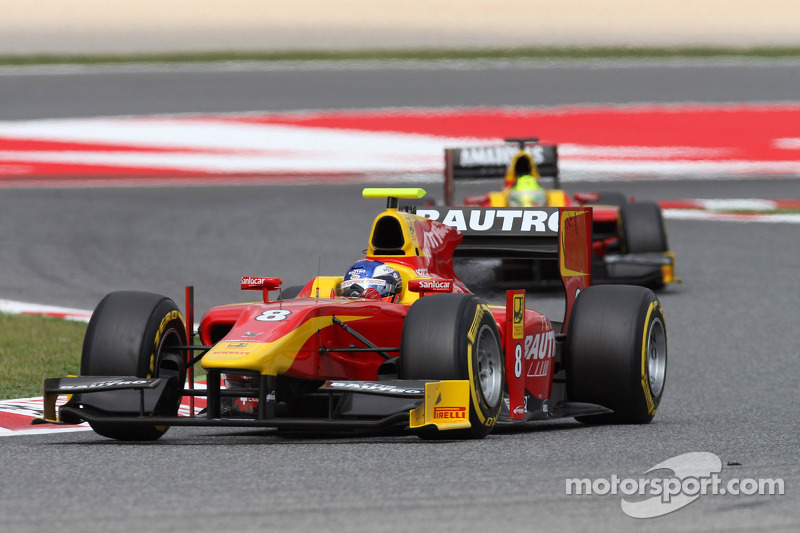 First lap incidents ruin the day for Racing Engineering in today's Barcelona Feature Race