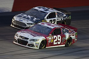 NASCAR Sprint Cup Race report RCR's Harvick hangs tough to finish fifth at Darlington Raceway
