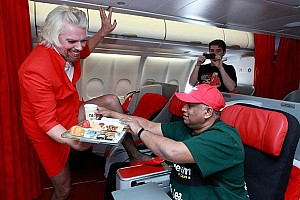 Formula 1 Special feature Sir Richard Branson - AirAsia's Hottest Cabin Crew
