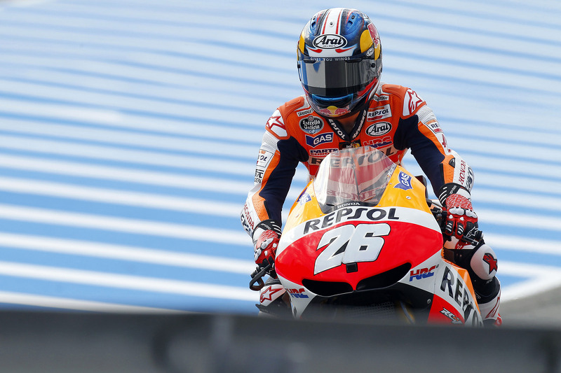 Pedrosa tops day one at MotoGP round 4 under the French sun