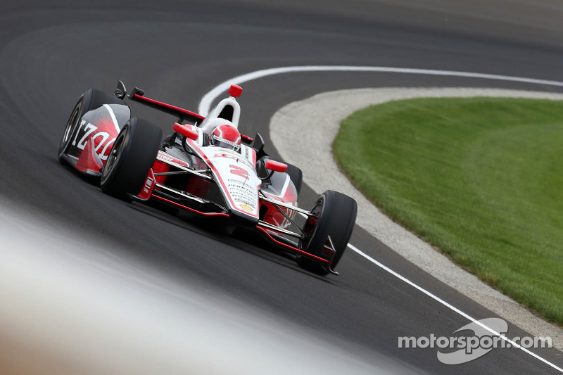 Team Penske qualifies all there drivers in the first three rows for The Indianapolis 500