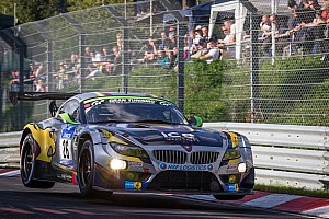 17 hours in: BMW Sports Trophy Team Marc VDS running second  at Nürburgring