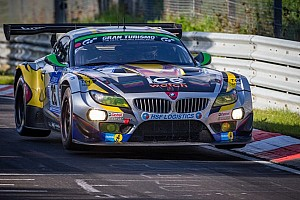 Podium for BMW Sports Trophy Team Marc VDS at the Nürburgring 24 Hours