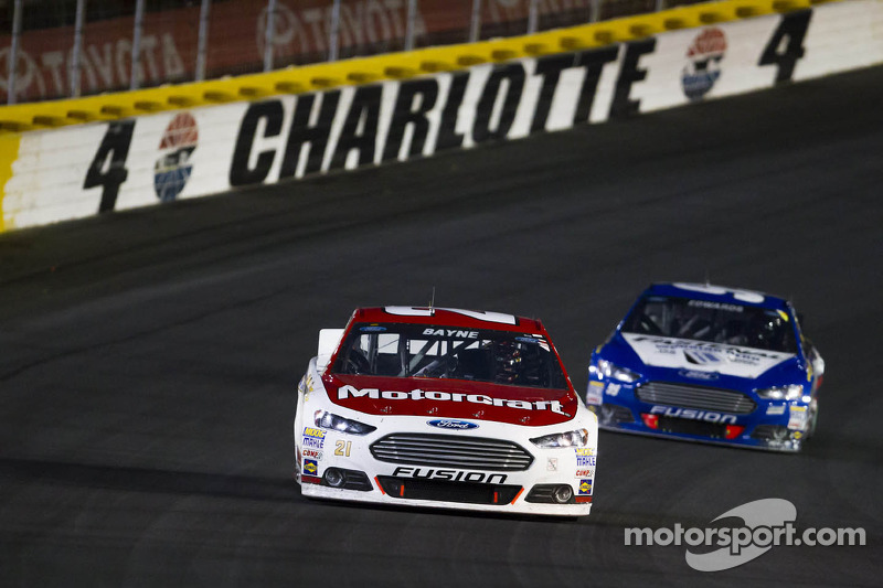 Wood Brothers' Bayne finish 16th in Charlotte marathon