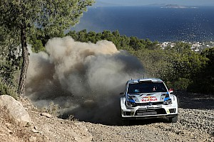 WRC Leg report Jari-Matti excels himself – Volkswagen driver Latvala takes the lead in Greece