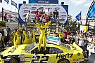Logano scores third straight Dover win