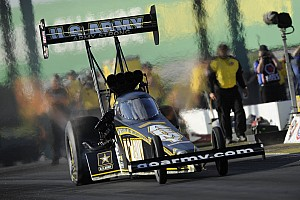 NHRA Race report U.S. Army teams can't find Englishtown magic