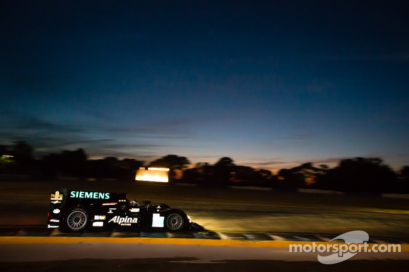 Scott Tucker and Level 5: Test Day at Le Mans