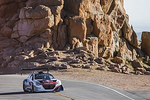 Loeb and his 'Beast' hits Pikes Peak during test