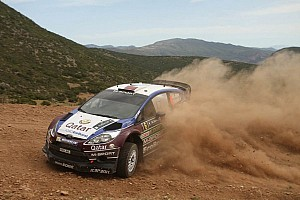 WRC Breaking news Evans steps in for Al-Attiyah to claim debut in Sardinia