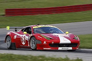 Grand-Am Race report Scuderia Corsa Ferrari battles back from penalty to dramatic finish at Mid-Ohio