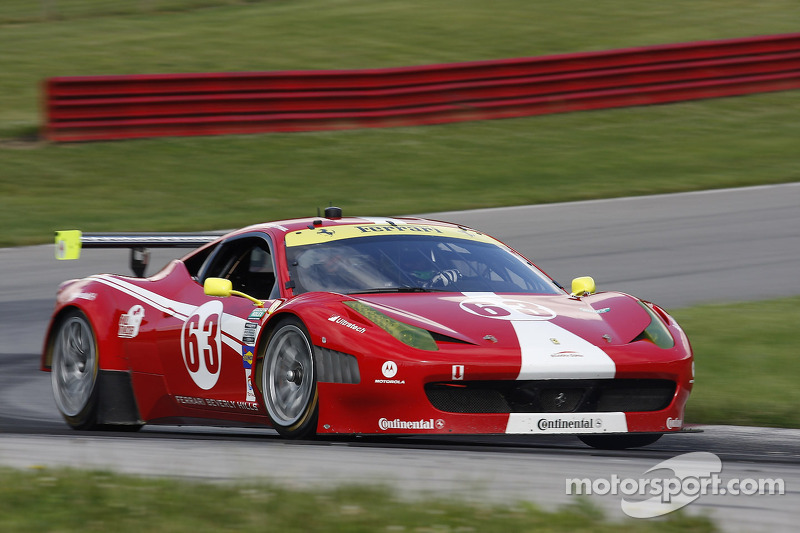 Scuderia Corsa Ferrari battles back from penalty to dramatic finish at Mid-Ohio