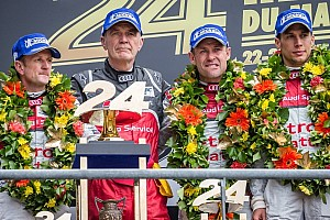 Le Mans Race report Audi, Morgan and Porsche emerge victorious at Le Mans in a race marred by a fatal accident