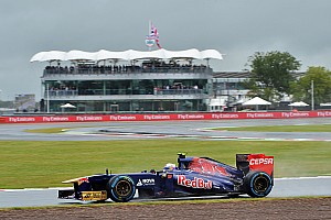 Good Friday practice for Toro Rosso at Silverstone