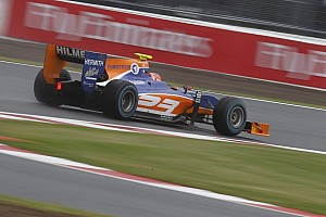 GP2 Race report Lancaster second home victor in Silverstone