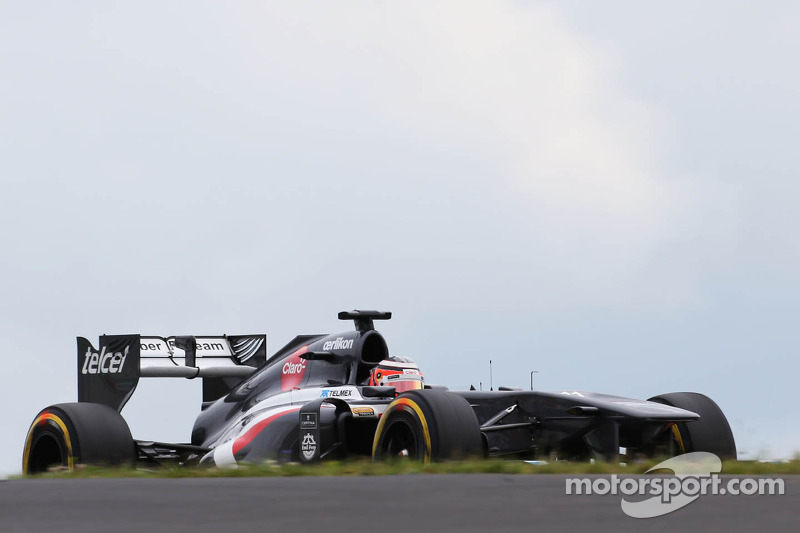 Friday practice at Nürburgring went well for Sauber