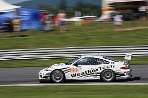 ALMS Qualifying report MacNeil and Bleekemolen to start on front row at Lime Rock in GTC