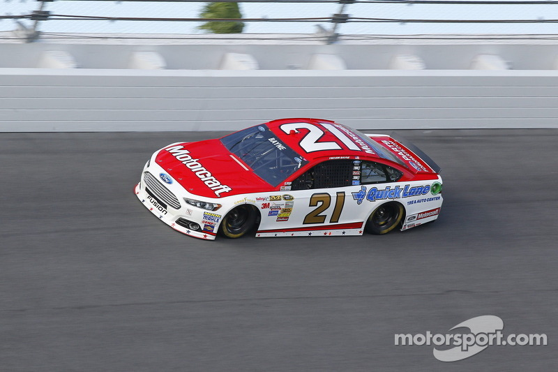Bayne's Ford Fusion fast from start to finish at Daytona