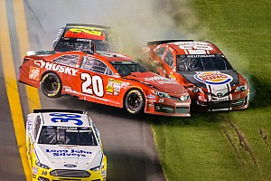 NASCAR Sprint Cup Race report Late-race accident leaves Reutimann 30th at Daytona