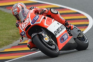 MotoGP Practice report Complicated opening day at Sachsenring for Ducati Team