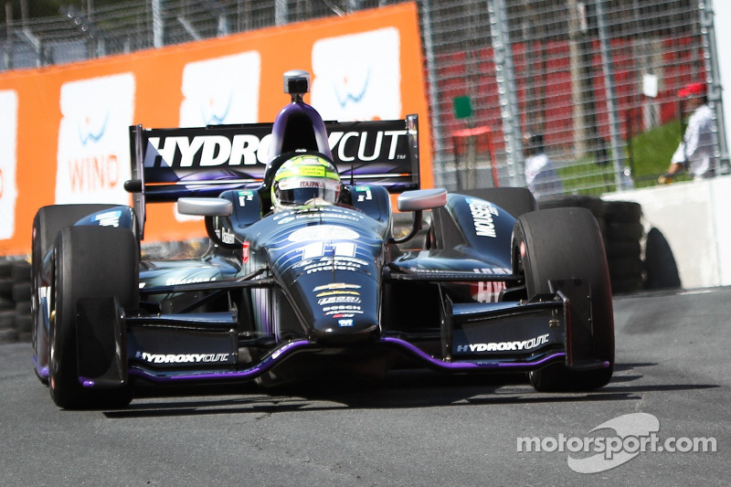Tony Kanaan qualifies season high tying 4th Toronto race one