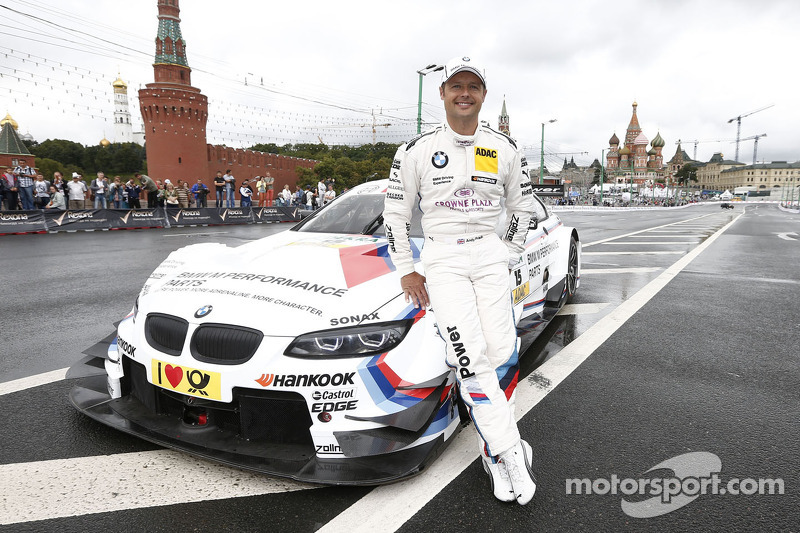 "Strong showing at the ""Moscow City Racing"" event by Priaulx"