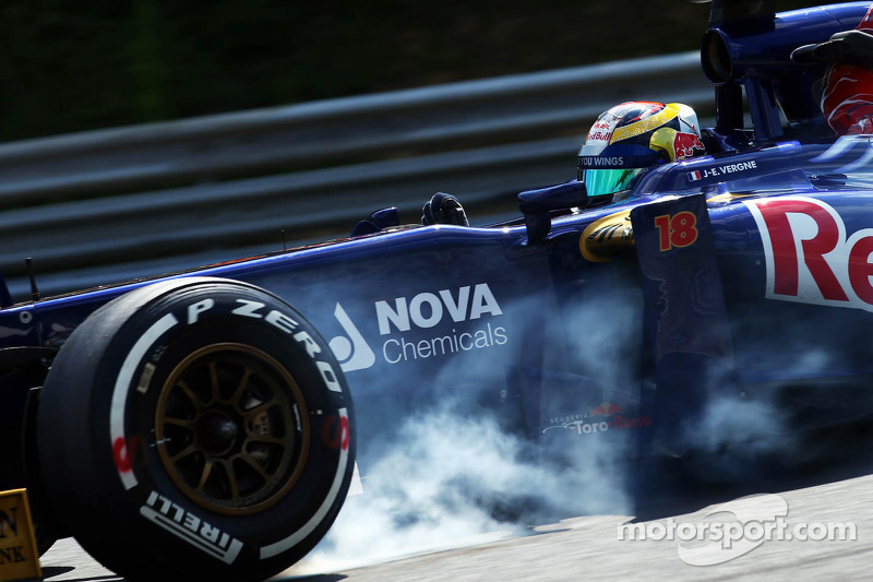 A difficult Friday for Toro Rosso in Hungary