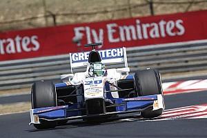 Berthon cruises to Budapest sprint win