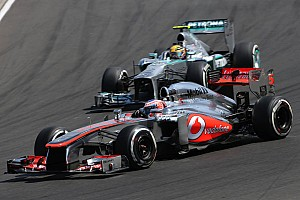 Button and Pérez are top-10 at Hungaroring