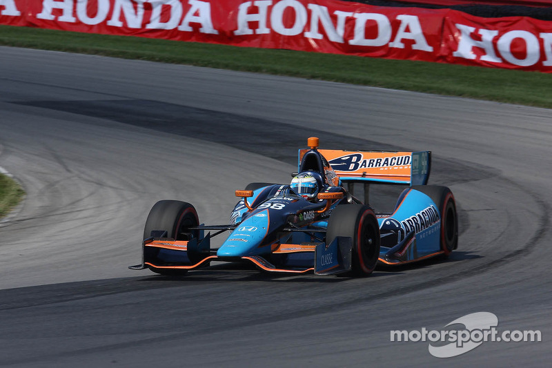 Filippi finishes 16th in series debut at Mid-Ohio