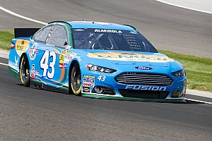 Almirola continues improvement on road courses, Watkins Glen