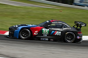 ALMS Qualifying report BMW Team RLL qualifies 7th and 9th at Road America