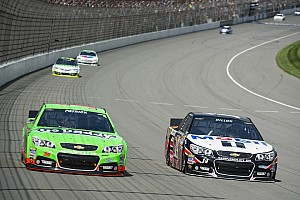 NASCAR Sprint Cup Race report Patrick finishes 23rd in Michigan 400