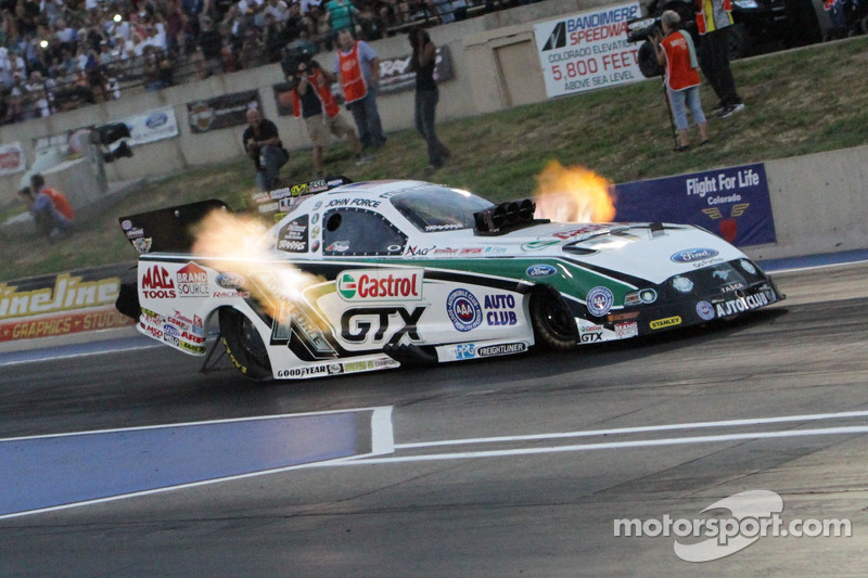John and Courtney Force clinch countdown spots at Brainerd