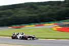 Sauber's Hulkenberg almost in Q3 at Spa-Francorchamps