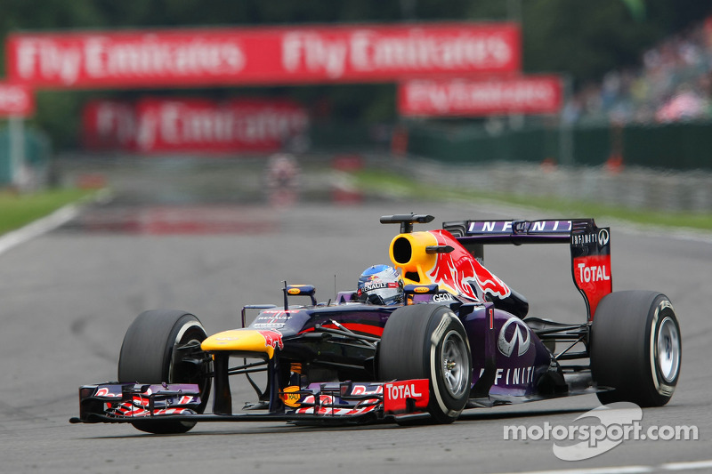 Renault powers Sebastian Vettel to majestic Spa victory