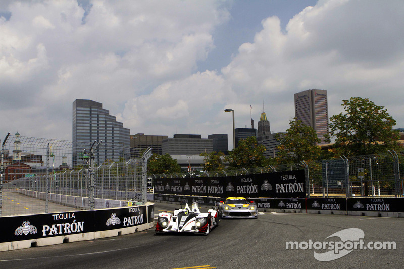 Pickett Racing on pole in Baltimore