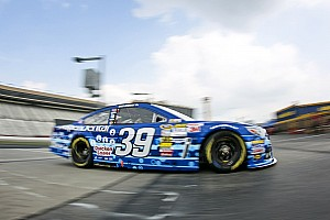 NASCAR Sprint Cup Race report Newman earns hard-fought fifth-place finish at Atlanta