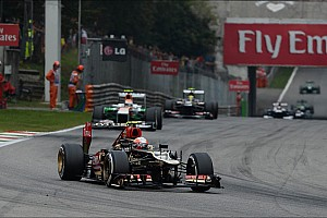 Lotus fought back showing strong race pace at Monza