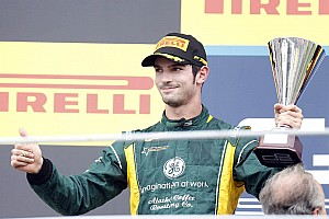 GP2 Race report Alexander Rossi 2nd in Monza