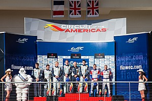 Young Driver AMR claims podium in Texas
