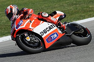 MotoGP Practice report Dovizioso, Hayden eighth and tenth in free practice at Aragón