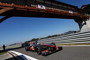 Formula 1 Practice report A productive day's testing for McLaren at Korean International Circuit