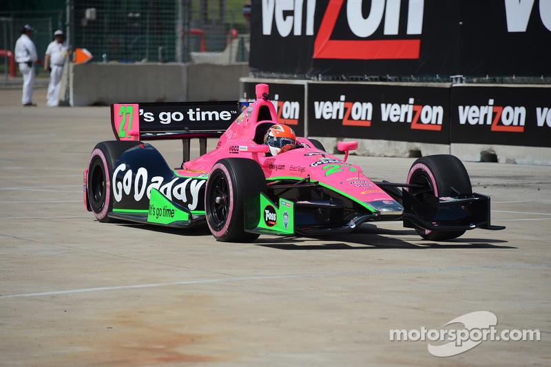 Andretti Autosport at Houston race 1