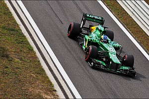 Formula 1 Race report Caterham F1 Team drivers thoughts on Korean GP race