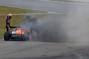 Formula 1 Commentary New chassis for Webber after Korea fire