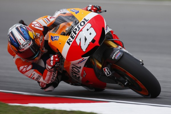 Pedrosa and Marquez lead the way on day one in Sepang
