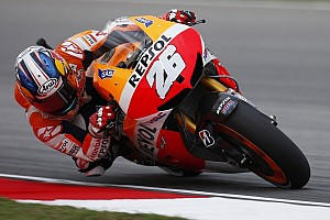 MotoGP Race report Pedrosa and Marquez lead the way on day one in Sepang