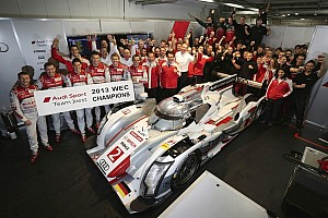 WEC Breaking news Audi claim world championship title in shortened 6 Hours of Fuji